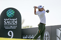 Joakim Lagergren (SWE) on the 9th tee during the 1st round of  the Saudi International powered by Softbank Investment Advisers, Royal Greens G&CC, King Abdullah Economic City,  Saudi Arabia. 30/01/2020<br /> Picture: Golffile | Fran Caffrey<br /> <br /> <br /> All photo usage must carry mandatory copyright credit (© Golffile | Fran Caffrey)