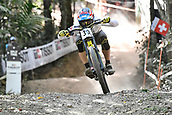 10th September 2017, Smithfield Forest, Cairns, Australia; UCI Mountain Bike World Championships; Mick Hannah (AUS) riding for Polygon UR on his way to second place in the elite mens downhill race;