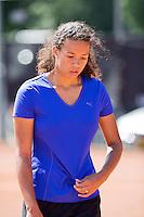 Netherlands, Rotterdam August 05, 2015, Tennis,  National Junior Championships, NJK, TV Victoria,  Savannah Sendar<br /> Photo: Tennisimages/Henk Koster