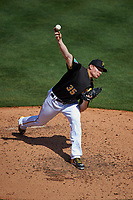 Pittsburgh Pirates relief pitcher Mark Melancon (35) delivers a pitch during a Spring Training game against the Boston Red Sox on March 9, 2016 at McKechnie Field in Bradenton, Florida.  Boston defeated Pittsburgh 6-2.  (Mike Janes/Four Seam Images)