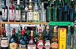 Andenken, Souvenir, Souvenirs, Omodos near Troodos, wines & liqueur, Cyprus, Zypern