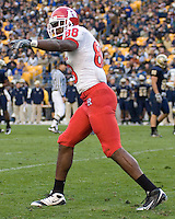 October 25, 2008: Rutgers wide receiver Kenny Britt. The Rutgers Scarlet Knights defeated the Pitt Panthers 54-34 on October 25, 2008 at Heinz Field, Pittsburgh, Pennsylvania.