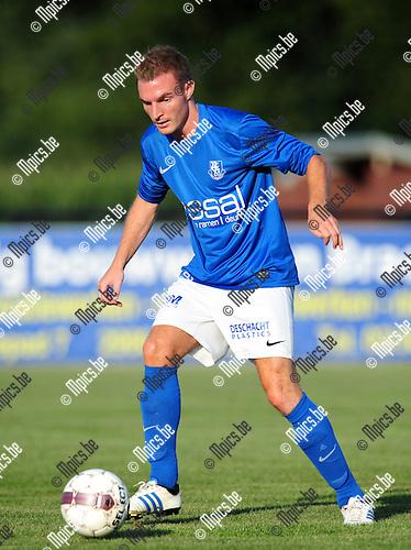 2014-07-24 / Voetbal / seizoen 2014-2015 / KVV Vosselaar / Maarten Sas<br /><br />Foto: mpics.be