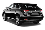 Car pictures of rear three quarter view of a 2015 Lexus RX F Sport 5 Door SUV 2WD Angular Rear