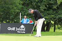 Gareth Maybin (NIR) putts on the 13th green during Day 1 Thursday of The Irish Open presented by Discover Ireland at Killarney Golf & Fishing Club on 28th July 2011 (Photo Jenny Matthews/www.golffile.ie)