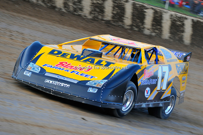 Sep 9, 2009; 7:12:11 PM; Rossburg, OH., USA; The 5th Annual All-star race with NASCAR and other drivers competing in Dirt Late Models of the Prelude to the Dream event running at the Eldora Speedway.  Mandatory Credit: (thesportswire.net)