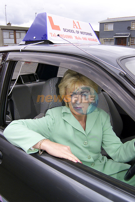 Patricia Wilton of A1 School of Motoring..Picture: Paul Mohan/Newsfile