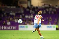 Orlando, FL - Wednesday September 11, 2019: Sarah Gorden , Orlando Pride vs  Chicago Red Stars at Exploria Stadium.