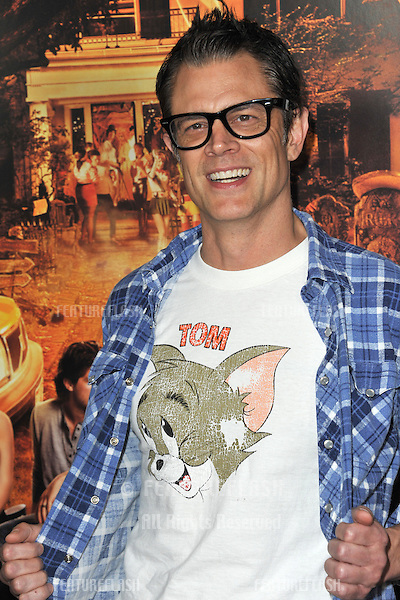 "Johnny Knoxville at the Los Angeles premiere of his new movie ""Fun Size"" at the Paramount Theatre, Hollywood..October 25, 2012  Los Angeles, CA.Picture: Paul Smith / Featureflash"
