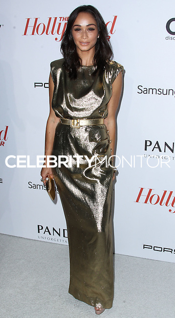 WEST HOLLYWOOD, CA - SEPTEMBER 19: Actress Cara Santana arrives at The Hollywood Reporter's 2013 Emmy Party held at Soho House on September 19, 2013 in West Hollywood, California. (Photo by Xavier Collin/Celebrity Monitor)