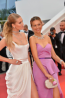 "CANNES, FRANCE. May 19, 2019: Toni Garrn & Petra Nemcova  at the gala premiere for ""A Hidden Life"" at the Festival de Cannes.<br /> Picture: Paul Smith / Featureflash"