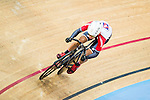 Fong Cheuk Shan of SCAA in action during the Open Qualifying (200M Flying Start) at the Hong Kong Track Cycling Race 2017 Series 5 on 18 February 2017 at the Hong Kong Velodrome in Hong Kong, China. Photo by Marcio Rodrigo Machado / Power Sport Images