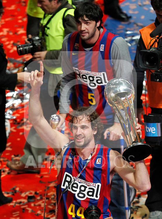 Madrid.- (13/02/2011).-LXXV COPA DE S.M. EL REY.FINAL.Regal F.C. Barcelona-Real Madrid.Roger Grimau...©Alex Cid-Fuentes/AlfaquiFotografia