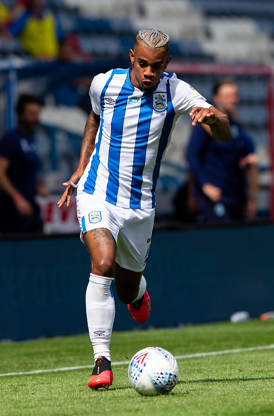 Huddersfield Town's Juninho Bacuna in action<br /> <br /> Photographer Alex Dodd/CameraSport<br /> <br /> The EFL Sky Bet Championship - Huddersfield Town v Wigan Athletic - Saturday 20th June 2020 - John Smith's Stadium - Huddersfield <br /> <br /> World Copyright © 2020 CameraSport. All rights reserved. 43 Linden Ave. Countesthorpe. Leicester. England. LE8 5PG - Tel: +44 (0) 116 277 4147 - admin@camerasport.com - www.camerasport.com