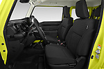 Front seat view of 2019 Suzuki Jimny GLX 5 Door SUV Front Seat  car photos