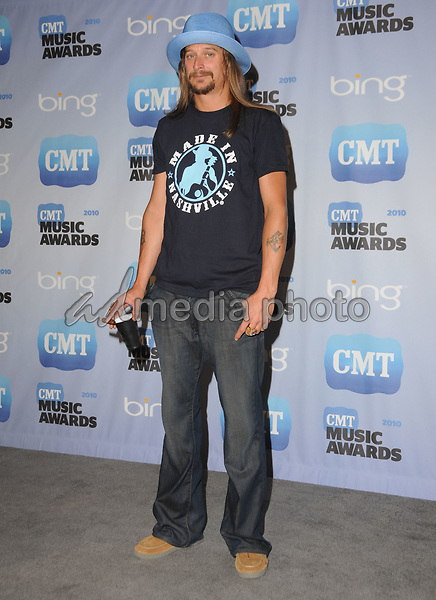 09 June 2010 - Nashville, Tennessee - Kid Rock.  2010 CMT Music Awards held at Bridgestone Arena. Photo Credit: George Shepherd/AdMedia