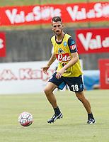 Mirko Valdifiori <br /> ritiro precampionato Napoli Calcio a  Dimaro 13<br /> Luglio 2015<br /> <br /> Preseason summer training of Italy soccer team  SSC Napoli  in Dimaro Italy July 13, 2015