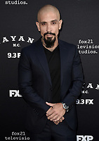 """LOS ANGELES - AUGUST 27: Joseph Lucero attends the season two red carpet premiere of FX's """"Mayans M.C"""" at the ArcLight Dome on August 27, 2019 in Los Angeles, California. (Photo by Scott Kirkland/FX/PictureGroup)"""