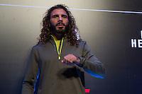 SÃO PAULO, SP, 05.11.2015 - UFC-SP -  Clay Guida durante encarada no UFC Media Day, no hotel Hilton, na zona sul de São Paulo, na manhã desta quinta-feira, 05. (Foto: Adriana Spaca/Brazil Photo Press)