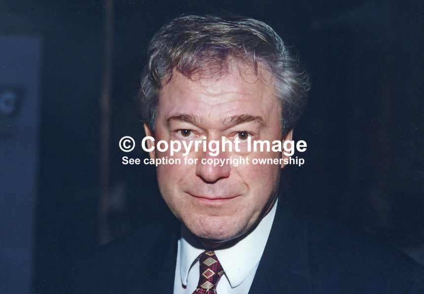 Tony Banks, MP, Labour Party, Britain, UK, 19961027TB..Copyright Image from Victor Patterson, 54 Dorchester Park, Belfast, UK, BT9 6RJ..Tel: +44 28 9066 1296.Mob: +44 7802 353836.Voicemail +44 20 8816 7153.Skype: victorpattersonbelfast.Email: victorpatterson@mac.com.Email: victorpatterson@ireland.com (back-up)..IMPORTANT: If you wish to use this image or any other of my images please go to www.victorpatterson.com and click on the Terms & Conditions. Then contact me by email or phone with the reference number(s) of the image(s) concerned.