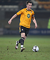 Josh Coulson of Cambridge United during the Blue Square Bet Premier match between Cambridge United and Kidderminster Harriers at the Abbey Stadium, Cambridge on 18th February, 2011 .© Kevin Coleman 2011.