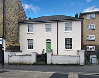 BNPS.co.uk (01202 558833)<br /> Pic: AuctionHouseLondon/BNPS<br /> <br /> Simple house with a huge history.<br /> <br /> A humble terraced house that was the first official postal address of Tottenham Hotspur Football Club has emerged for sale for £450,000.<br /> <br /> White Cottage was lived in by Bobby Buckle, founder of Hotspur Football Club - which later became Tottenham.<br /> <br /> The address is the reason that Spurs previous stadium was known as White Hart Lane, despite not actually being located on the road itself.