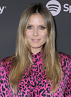 "07 February 2019 - Westwood, California - Heidi Klum. Spotify ""Best New Artist 2019"" Event held at Hammer Museum. <br /> CAP/ADM/PMA<br /> ©PMA/ADM/Capital Pictures"