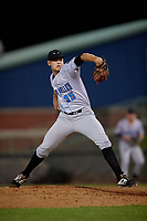 Hudson Valley Renegades pitcher Nathan Wiles (35) during a NY-Penn League game against the Mahoning Valley Scrappers on July 15, 2019 at Eastwood Field in Niles, Ohio.  Mahoning Valley defeated Hudson Valley 6-5.  (Mike Janes/Four Seam Images)