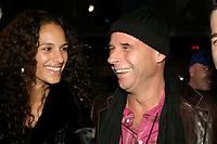Guy Laliberte (R)<br /> attend the Cirque du Soleil - DELIRIEM premiere  in Montreal , February 26, 2006<br /> photo : (c) by JP Proulx - Images Distribution