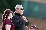 22 November 2013: Texas A&M assistant coach Phil Stephenson. The Texas A&M University Aggies played the Texas Tech University Red Raiders at Fetzer Field in Chapel Hill, NC in a 2013 NCAA Division I Women's Soccer Tournament Second Round match. Texas A&M advanced by winning the penalty kick shootout 4-3 after the game ended in a 2-2 tie after overtime.