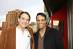"Jon Lindstrom - As The World Turns' ""Craig Montgomery"", General Hospital and Port Charles ""Kevin Collins"" and Santa Barbara ""Mark McCormick"" poses with Another World's Bronson Picket (in film) ""Diego Santana"" and As The World Turns' Scott Guthrie"" at The private Industry Screening of ""The Southside"", A Lany Film Tribute to Robert Areizaga, Jr. on February 27, 2012 at Tribeca Cinemas, New York City, New York.  (Photo by Sue Coflin/Max Photos)"
