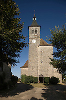 Europe/France/Midi-Pyrénées/46/Lot/Lunegarde: l'église Saint-Julien-de-Brioude