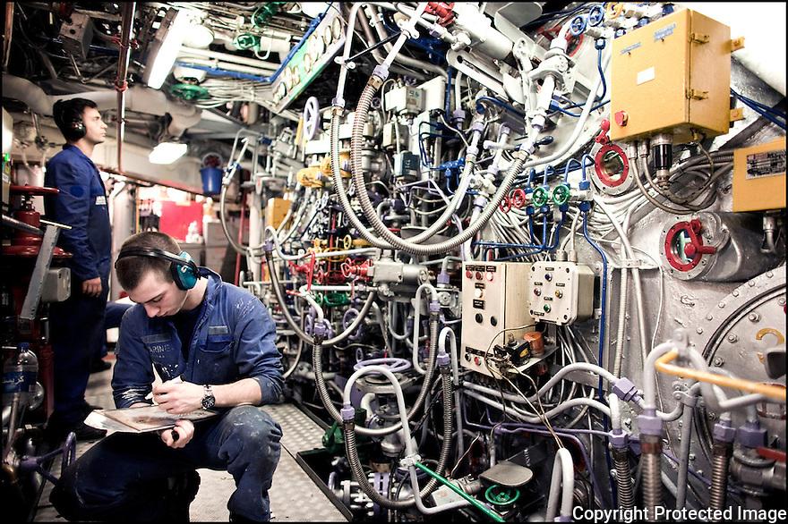 Décembre 2008/ Tunis/ Allumage des machines.