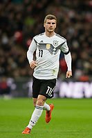 Timo Werner (RB Leipzig) of Germany during the International Friendly match between England and Germany at Wembley Stadium, London, England on 10 November 2017. Photo by Andy Rowland.