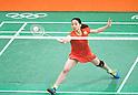 Misaki Matsutomo (JPN), AUGUST 15, 2016 - Badminton : Women's Doubles Quarter finals at Riocentro - Pavilion 4 during the Rio 2016 Olympic Games in Rio de Janeiro, Brazil. (Photo by Enrico Calderoni/AFLO SPORT)