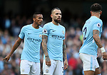 Manchester City's Nicolas Otamendi in action during the premier league match at the Etihad Stadium, Manchester. Picture date 9th September 2017. Picture credit should read: David Klein/Sportimage