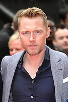 Ronan Keating arriving for the Postman Pat Premiere, Odeon West End, London. 11/05/2014 Picture by: Alexandra Glen / Featureflash