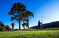 Royal Wellington Golf Club in Trentham during the COVID-19 pandemic in Wellington, New Zealand on Thursday, 7 May 2020. Photo: Dave Lintott / lintottphoto.co.nz