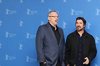 "Adam McKay and Christian Bale attending the ""Vice"" Photocall held at Grand Hyatt Hotel during 69th Berlinale International Film Festival, Berlin, Germany, 11.02.2019. Photo by Christopher Tamcke/insight media /MediaPunch ***FOR USA ONLY***"