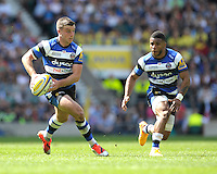 George Ford of Bath Rugby in action during the Aviva Premiership Rugby Final between Bath Rugby and Saracens at Twickenham Stadium on Saturday 30th May 2015 (Photo by Rob Munro)