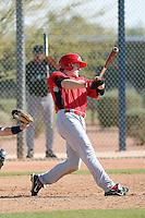 Joshua Garton, Cincinnati Reds 2010 minor league spring training..Photo by:  Bill Mitchell/Four Seam Images.