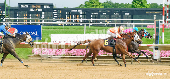 Fly Private winning at Delaware Park on 7/8/15