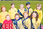 Having fun at the South West Girl Guides annual fun day in Killarney Community college on Saturday were front row l-r: Aoife Kissane, Ciara Griffin, Annabella Bellew, Rosha Courtney all Killarney. Back row: Claudia Ward, Michaela Sugrue, Amy Sweeney, Fiona Kearney and Ciara Curran all Tralee   Copyright Kerry's Eye 2008