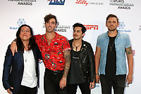 American Authors Band<br /> at the 4th Annual Sports Humanitarian Awards, The Novo, Los Angeles, CA 07-17-18<br /> David Edwards/DailyCeleb.com 818-249-4998