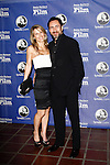 SANTA BARBARA, CA - FEB 3: Demian Bichir; Stefanie Sherk at the 27th annual Santa Barbara Film Festival Virtuosos Award Ceremony at the Arlington Theater on February 3, 2012 in Santa Barbara, California