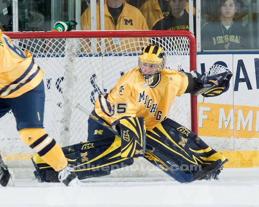 11/13/09 Michigan vs. Michigan State ice hockey at Yost Ice Arena.  U-M lost 3-2.