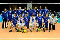 GRONINGEN - Volleybal, Abiant Lycurgus - Luboteni, voorronde Champions League, seizoen 2017-2018, 26-10-2017 teamfotio Lycurgus