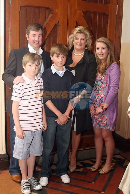 Nick Smith with his family at his confirmation in Termonfeckin Confirmation...Photo NEWSFILE/Jenny Matthews.(Photo credit should read Jenny Matthews/NEWSFILE)....This Picture has been sent you under the condtions enclosed by:.Newsfile Ltd..The Studio,.Millmount Abbey,.Drogheda,.Co Meath..Ireland..Tel: +353(0)41-9871240.Fax: +353(0)41-9871260.GSM: +353(0)86-2500958.email: pictures@newsfile.ie.www.newsfile.ie.FTP: 193.120.102.198.