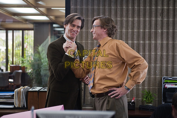 JIM CARREY & RHYS DARBY.in Yes Man.*Filmstill - Editorial Use Only*.CAP/FB.Supplied by Capital Pictures.