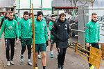 17.01.2020, Trainingsgelaende am wohninvest WESERSTADION,, Bremen, GER, 1.FBL, Werder Bremen Training ,<br /> <br /> <br />  im Bild<br /> Niklas Moisander (Werder Bremen #18 Kapitaen)<br /> Milos Veljkovic (Werder Bremen #13)<br /> Maximilian Eggestein (Werder Bremen #35)<br /> Günther / Guenther Stoxreiter (Athletik-Trainer Werder Bremen)<br /> Johannes Eggestein (Werder Bremen #24)<br /> <br /> <br /> Foto © nordphoto / Kokenge